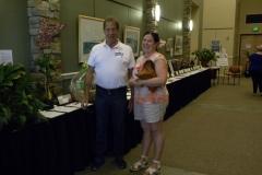 Volunteers-Silent-Auction-bids-Bill-Thomas-Kimberly-Christian